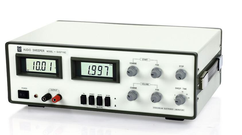 Automatic sweep signal generator