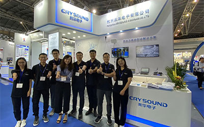 Focus on acoustics and vibration testing-CRYSOUND appears at Automotive Testing Expo